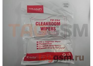 Чистящие салфетки YAXUN YX-224 (антистатические) (160шт 86х86 мм)