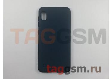 Задняя накладка для Samsung A10 / A105 Galaxy A10 (2019) (силикон, матовая, синяя) техпак
