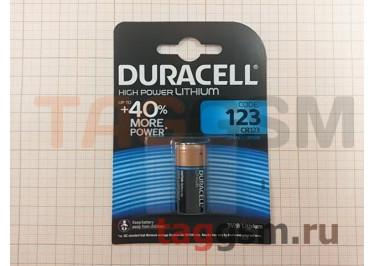 Спецэлемент CR123-1BL (батарейка Li, 3V) Duracell Ultra Lithium
