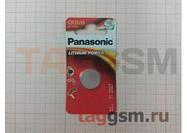 Спецэлемент CR2016-1BL (батарейка Li, 3V) Panasonic
