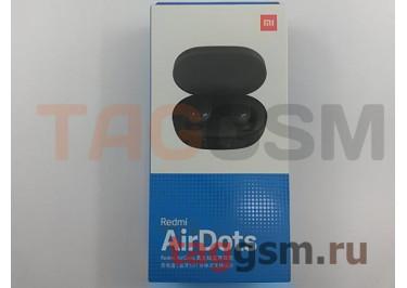 Bluetooth гарнитура Xiaomi Redmi AirDots True Wireless Bluetooth Headset (TWSEJ04LS) (black)