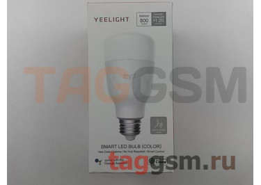 Умная лампочка с голосовым управлением (E27) (RGB) Xiaomi Yeelight Smart LED Light Bulb Voice Control (multicolored) (YLDP06YL)