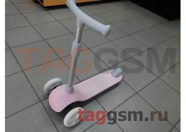Детский самокат-кикборд Xiaomi Mi rabbit children's scooter (HBC01YM) (pink)
