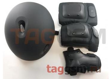 Комплект защиты для детей Xiaomi Mijia Gear Set Mijia helmet protective gear set (QXTK01NEB) (черный, M)