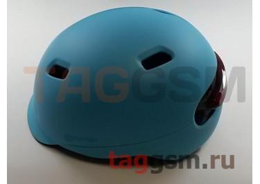 Шлем Smart4u City Light Ride Smart Flash Helmet, размер М (54-58см)  (SH50) (blue)