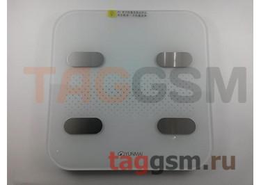 Умные весы Xiaomi Yunmai light color2 smart body fat scale (M1302) (white)