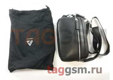 Сумка Xiaomi VLLICON First Layer Cowhide Light Simple Shoulder Messenger Bag (black)