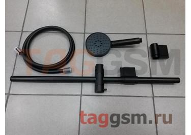 Душевой комплект лейка и шланг для душа Xiaomi Big white small blacksmith shower hose lifting rod sett (DXHS002 / DXRG002 / DXSJG002) (black)