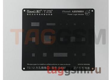 Трафарет BGA 2D iBlack Stencil Power Logic 8 / X QUANLI