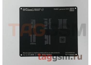 Трафарет BGA 3D iBlack Stencil EMMC general DDR QUANLI
