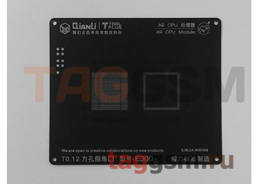 Трафарет BGA 3D iBlack Stencil CPU A9 QUANLI