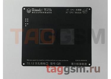 Трафарет BGA 3D iBlack Stencil CPU A7 QUANLI