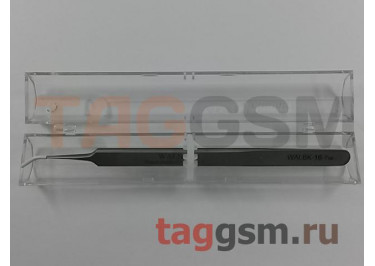 Пинцет WALBK 16-7sa (изогнутый) TG