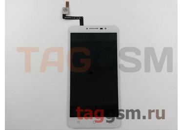 Дисплей для Alcatel 9008D A3 XL + тачскрин (белый)