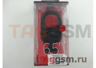 Автомобильный держатель (на вентиляционную панель, на шарнире, на магните) (чёрный с красной вставкой) Perfeo, PH-533
