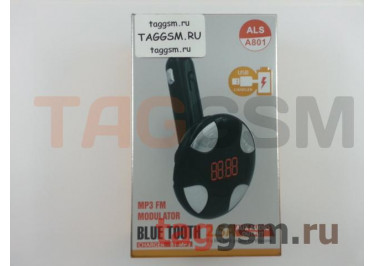 FM-модулятор ALS-801 (Bluetooth, 2 USB, AUX) Allison, в ассортименте