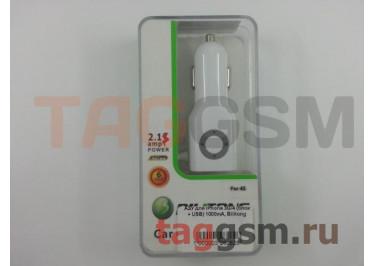АЗУ для iPhone 3G / 4 (блок + USB) 1000mA, Bilitong
