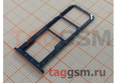 Держатель сим для Huawei Honor 8A / 8A Pro (синий)