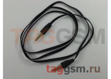 Аудио-кабель aux SPORT плоский, в ассортименте