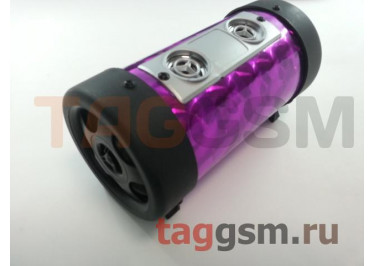 Колонка портативная (фиолетовая) T4