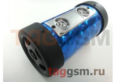 Колонка портативная (синяя) T4