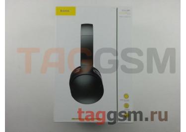 Беспроводные наушники (полноразмерные Bluetooth) (черные) Baseus Encok D02