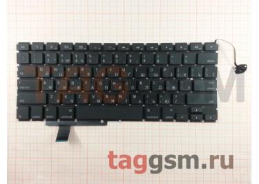 """Клавиатура для ноутбука Apple MacBook Pro 17"""" (A1297) (Early 2009 - Late 2011) (горизонтальный Enter)"""