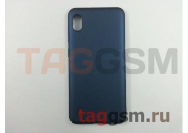 Задняя накладка для Samsung A10 / A105 Galaxy A10 (2019) (матовая, синяя) NEYPO