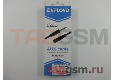 Аудио-удлинитель 1 м 3,5 мм, Exployd EX-K-637