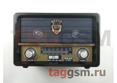 Колонка (M-108BT ch) (Bluetooth+USB+MicroSD+FM+пульт) (черная)