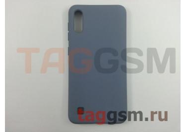Задняя накладка для Samsung A10 / A105 Galaxy A10 (2019) (силикон, матовая, серая) NEYPO