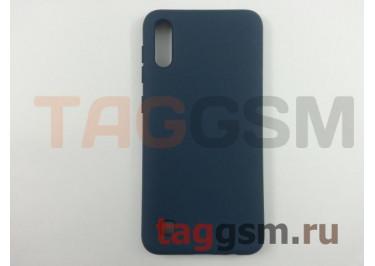 Задняя накладка для Samsung A10 / A105 Galaxy A10 (2019) (силикон, матовая, темно-синяя) NEYPO