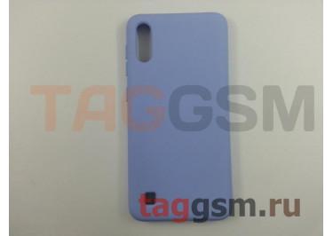 Задняя накладка для Samsung A10 / A105 Galaxy A10 (2019) (силикон, матовая, фиолетовая) NEYPO