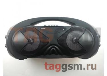 Колонка (RS-8884ch) (Bluetooth+USB+MicroSD+FM+LED+TWS+дисплей) (черная)