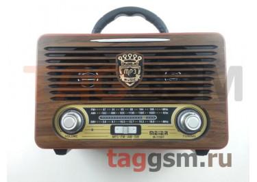 Колонка (M-115BT ch) (Bluetooth+USB+SD+MicroSD+FM) (черная)
