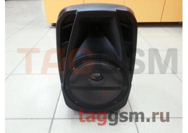 Колонка (EL8-03 ch) (Bluetooth+USB+FM+AUX+LED+-подсветка) (черная)