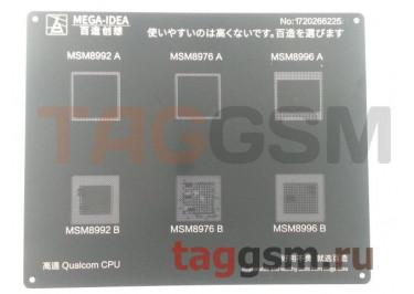 Трафарет BGA CPU MSM8992 AB /  MSM8976 AB /  MSM8996 AB MEGA-IDEA