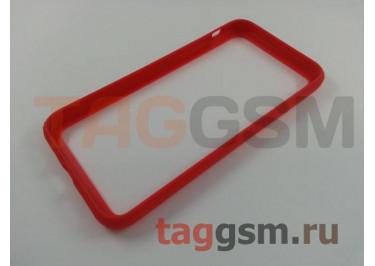 Бампер для iPhone X (красный) Baseus