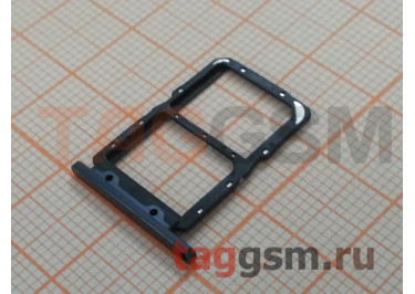 Держатель сим для Huawei Honor 20 / Nova 5T (черный)
