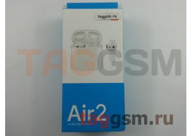 Bluetooth гарнитура Xiaomi True Wireless Bluetooth Headset Air 2 (AirDots Pro 2) (TWSEJ02JY) (white)