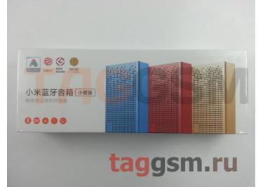 Колонка Xiaomi Mi Mini Square Box 2 Love Edition (MDZ-33-DA) (gold)