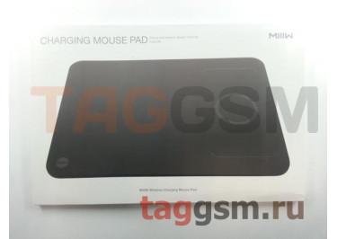 Коврик для мыши Xiaomi MIIIW Wireless Charging Mouse Pad с беспроводной зарядкой (MWWCP01) (black)