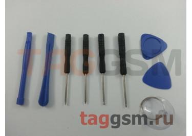 Набор вспомогательных инструментов для ремонта iPhone 5 / 5S / 6 / 6S / 6Plus / 6SPlus / 7 / 7Plus / 8 / 8Plus / X (набор 9 в 1)