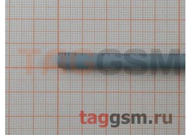 Термоусадочная трубка (5,0 мм  /  2,5 мм, длина 1м, серая) Rexant