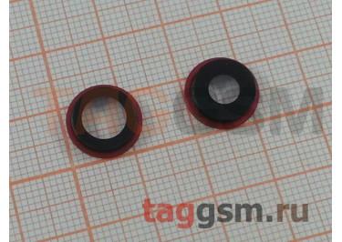 Стекло задней камеры для iPhone 11 (красный)