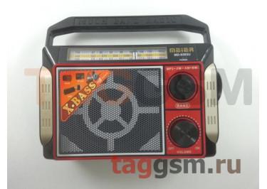 Колонка (MD-9393U ch) (USB+MicroSD+FM) (черная)