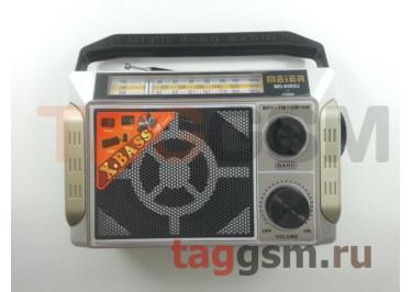 Колонка (MD-9393U ch) (USB+MicroSD+FM) (серебро)
