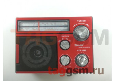Колонка (RX-552DTch) (Bluetooth+USB+SD+MicroSD+FM+фонарь) (красная)