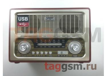 Колонка (MD-1800BTch) (Bluetooth+USB+SD+MicroSD+FM) (серебро)