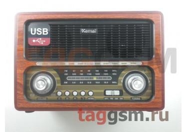 Колонка (MD-1800BTch) (Bluetooth+USB+SD+MicroSD+FM) (коричневая)